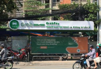 GrabPay Advertisement for Southeast Asia's Ride-Hailing-Companies